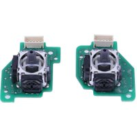 1/5 Sets Replacement Left Right 3D Analog Joystick for Nintendo WII U Gamepad Controller Control Gaming Direction  ABS + iron3