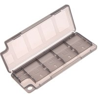 Best Price Lightweight 10 in1 Game Memory Card Holder Storage Case Box for PS Vita ER PSV White Best Price