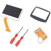 LCD Backlight Screen For GBA Replacement Parts for Nintendo for Game Boy Advance SP SP for GBA AGS-101 Top Upper Screen Repair