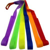 Multi-color Children Gaming Accessory Ribbon Strips Kids Outdoor Gymnastics Games Dance Dancer Ribbon Belts Strips Toy