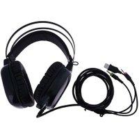 Professional Gamer Headphone USB/Dual 3.5mm Wired PC Headset Headphones Earpiece with Microphone for Video Games