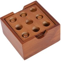 Puzzle Game Montessori Educational Magic Box Of 9 parts For Adult And Children Wooden Toys Of Kong Ming Lock